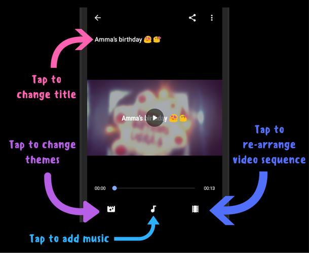Create movies using Google Photos