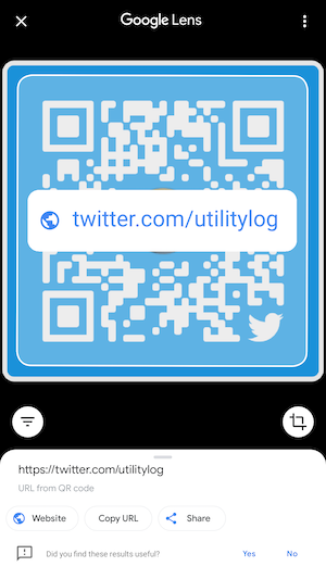 How to scan QR codes from gallery on Google Lens
